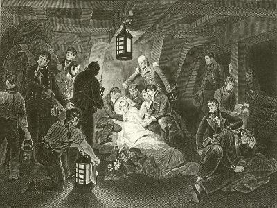 Death of Lord Nelson-Arthur William Devis-Giclee Print