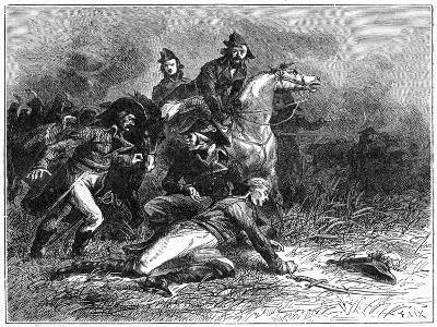 Death of Louis Charles Antoine Desaix, French General and Military Leader, 1898-Barbant-Giclee Print