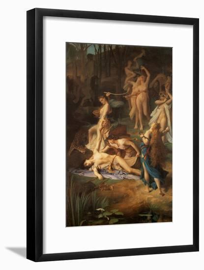 Death of Orpheus, 1866-Emile Levy-Framed Giclee Print