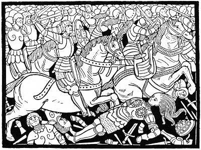 Death of Penthesilea, 1484--Giclee Print