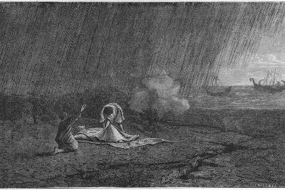 Death of Pliny the Elder, 79--Giclee Print