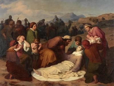 Death of Rachel, 1847-Gustave Metz-Giclee Print