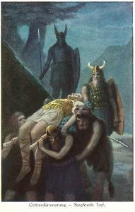 Death of Siegfried, Twilight of the Gods