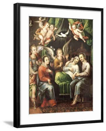 Death of St Joseph-Juan Correa-Framed Giclee Print