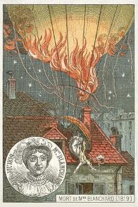 Death of the Balloonist Sophie Blanchard, 1819