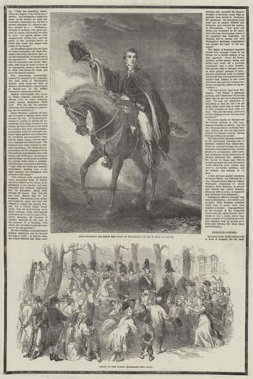 Death of the Duke of Wellington-Sir John Gilbert-Giclee Print