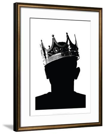 Death of The King III-Alex Cherry-Framed Art Print