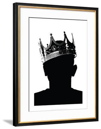 Death of The King III-Alex Cherry-Framed Art Print
