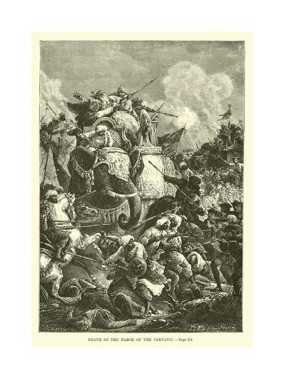 Death of the Nabob of the Carnatic--Giclee Print