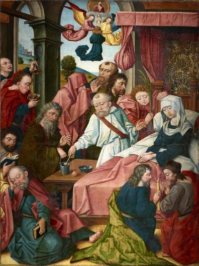 Death of the Virgin, Lower Rhine, C.1520--Giclee Print