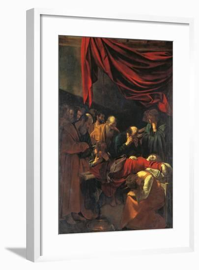 Death of the Virgin Mary-Caravaggio-Framed Giclee Print