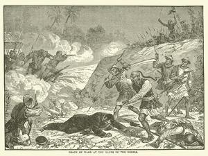 Death of Ward at the Hands of the Rebels