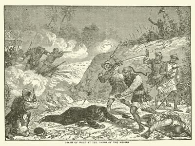 Death of Ward at the Hands of the Rebels--Giclee Print