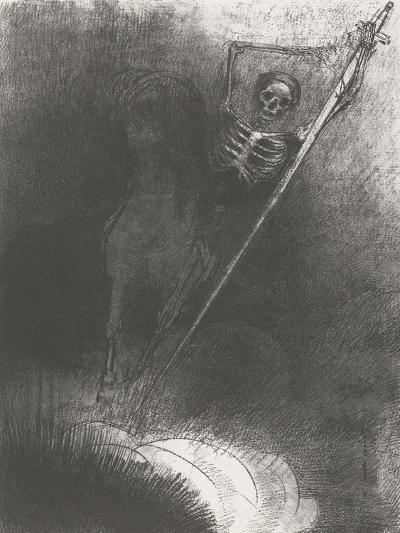 Death on a Horse, 1899-Odilon Redon-Giclee Print