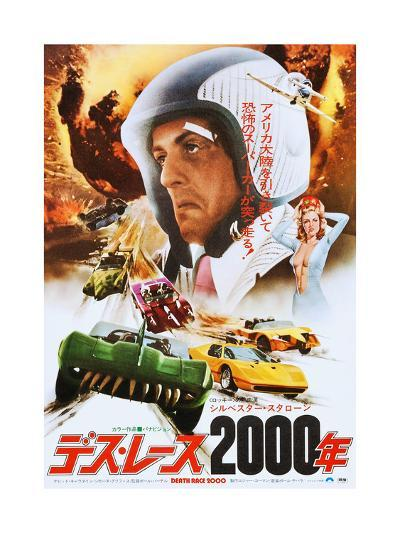 Death Race 2000, Japanese Poster Art, Sylvester Stallone, 1975--Giclee Print