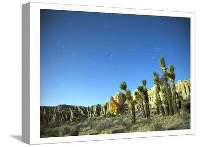 Death Valley Moon Glow #2-Murray Bolesta-Stretched Canvas Print