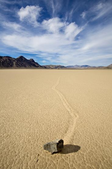 "Death Valley National Park, CA: ""Moving"" Rocks Of The Famous Racetrack-Ian Shive-Photographic Print"