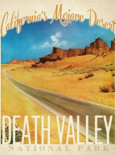 Death Valley--Giclee Print