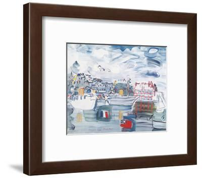 Deauville 1938-Raoul Dufy-Framed Art Print