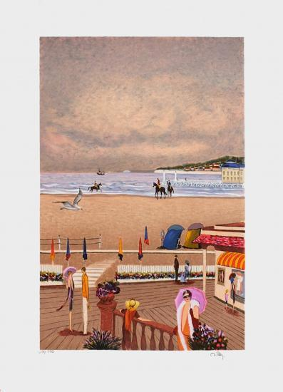 Deauville - Bord de Mer-Ramon Dilley-Limited Edition