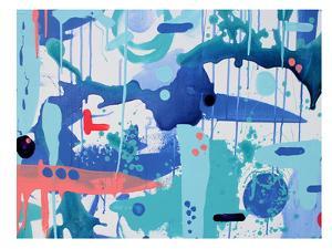 Abstract Drips by Deb McNaughton