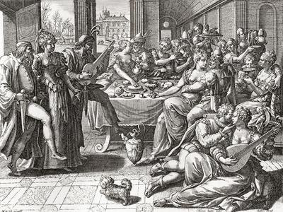 Debauchery and Licentiousness in the 16th Century--Giclee Print