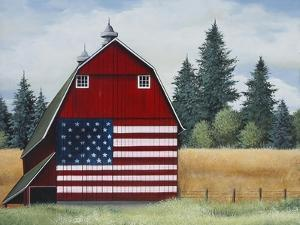 Americana Barn by Debbi Wetzel