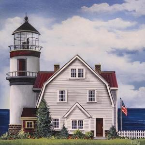 White Lighthouse by Debbi Wetzel