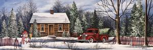 Winter Snowman Truck by Debbi Wetzel