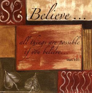 Words to Live By: Believe by Debbie DeWitt