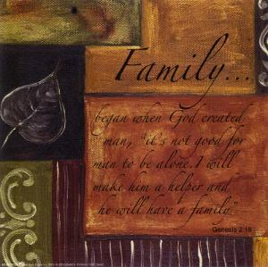 Words to Live By, Family by Debbie DeWitt