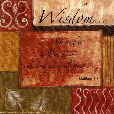 Words to Live By, Wisdom