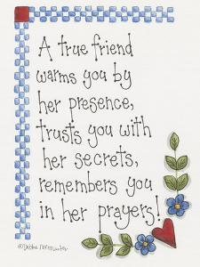 A True Friend by Debbie McMaster