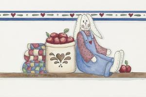Apple Bunny 2 by Debbie McMaster