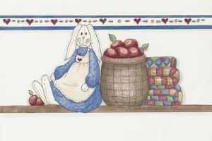 Apple Bunny by Debbie McMaster