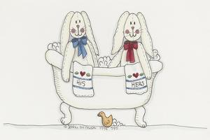 Bath Time Bunnies by Debbie McMaster
