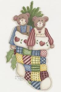 Bear Stocking by Debbie McMaster
