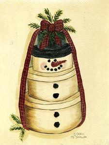 Box Snowman by Debbie McMaster