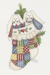 Bunny Stocking by Debbie McMaster
