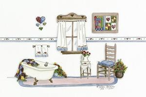 Country Bath 2 by Debbie McMaster