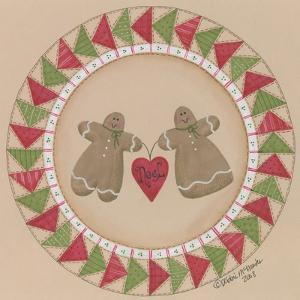 Gingerbread Pair by Debbie McMaster