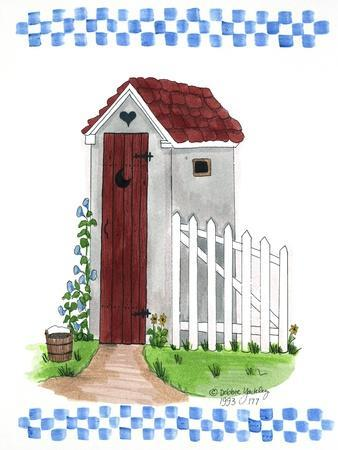 Grey Outhouse