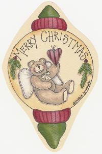 Merry Christmas Bear by Debbie McMaster