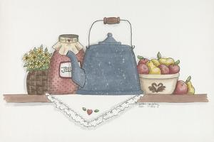 Teapot with Crock by Debbie McMaster