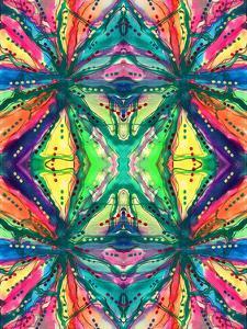 Kaleidoscope Abstract Pattern 223 by Debbie Pearson