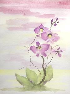 Orchid Trio 3 by Debbie Pearson