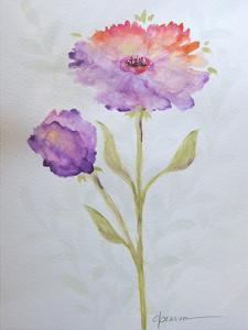 Poppies 1 by Debbie Pearson
