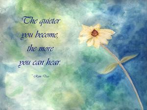 The Quieter You Become by Debbie Pearson