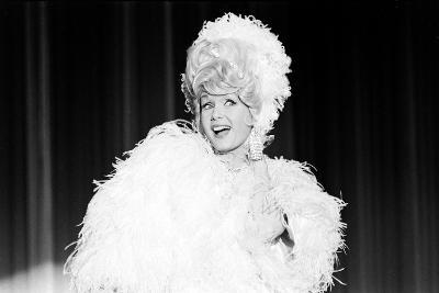 Debbie Reynolds Acting as Zsa Zsa Gabor, 1965-John Dominis-Photographic Print