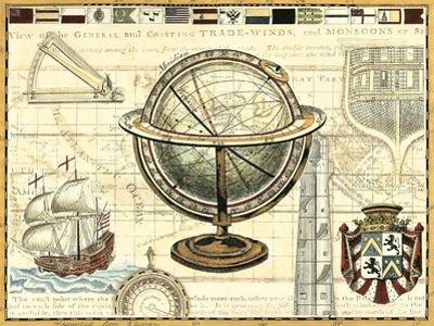 Nautical Map II by Deborah Bookman